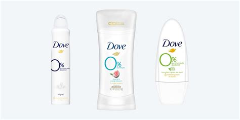 deodorant natural deodorants aluminum organic dove hips