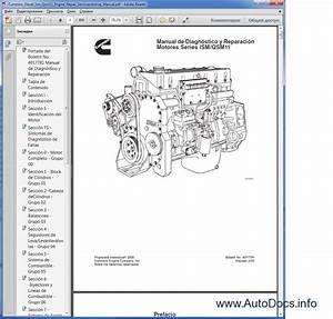 Cummins Ism    Qsm11 Series Engines Workshop Service Manual