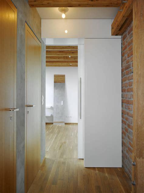 small attic loft apartment  prague idesignarch interior design architecture interior decorating emagazine