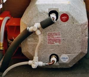 Rv Hot Water Heater Bypass Valve And Drain Valve