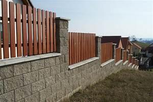 Zděné ploty ceník