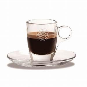 Tasse En Verre : tasse sous tasse en verre caff vergnano x 6 ~ Teatrodelosmanantiales.com Idées de Décoration