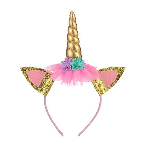 party favors unicorn kids hair bands mingribboncom