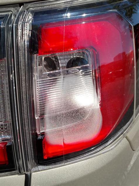 gmc acadia taillight  condensation
