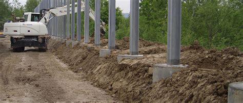 Der Zaun Arten Materialien Aufbau by Kellner Gmbh Rammsysteme Zylindrische Fundamente