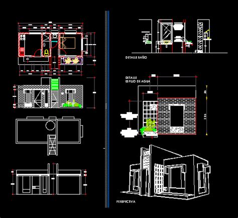 project country house  autocad  cad   mb bibliocad