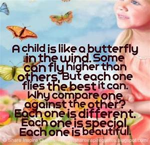 A child is like... Beautiful Child Quotes