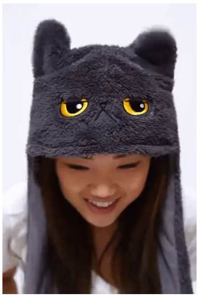 Ears Wiggle Cat Slippers Corgi Squeeze Kitty