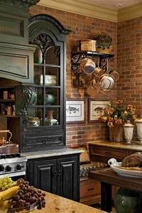 17 best ideas about brick accent walls on pinterest With kitchen cabinets lowes with rustic wall art ideas