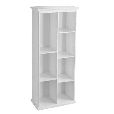 White Open Bookcase by Southern Enterprises Barnett Crisp White Open Bookcase