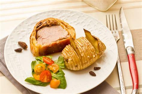 cuisine libanaise recettes filet mignon en croûte au foie gras morilles cuisine addict cuisine addict de