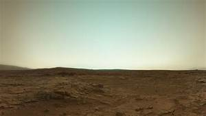 Mars Rover Curiosity Sends Back Its First Colour Picture ...