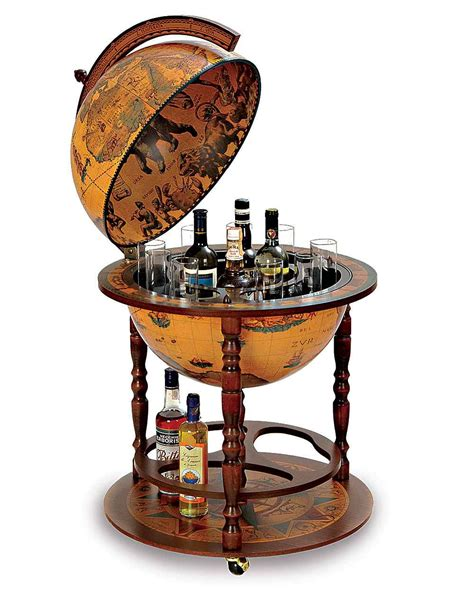 Liquor Cabinet Globe - home liquor cabinet furniture for home