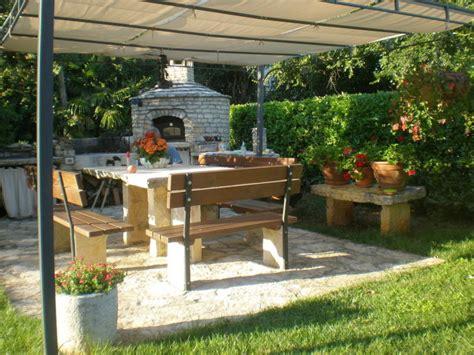 Grillplatz Gestalten by Ferienwohnung Casa Istria Al Mare 2 Novigrad Istrien