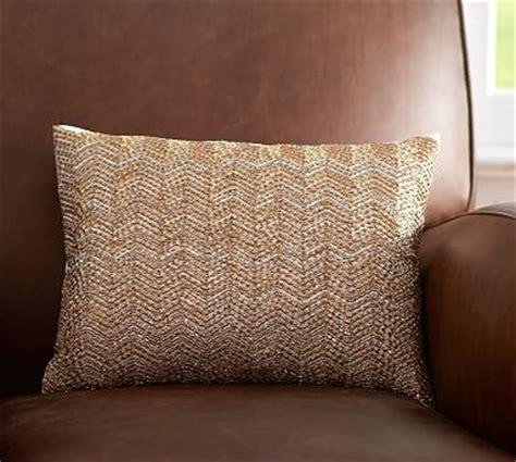 Beaded Ombre Pillow Cover Pottery Barn Living Room by Beaded Glitter Boudoir Pillow Cover Pottery Barn