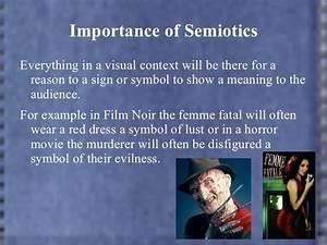 Semiotics Examples Mise En Scene And Semiotics