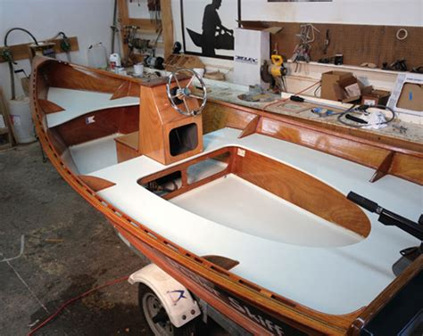Clc Boats Peeler Skiff by Wooden Boatbuilder Releases Center Console Kit Option