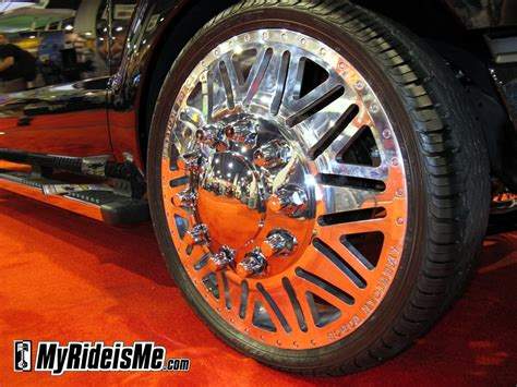 See The Ugliest Wheels Ever At Sema 2010