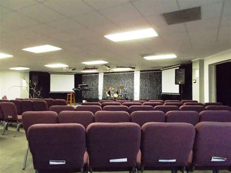 sparkle trees church stage design ideas