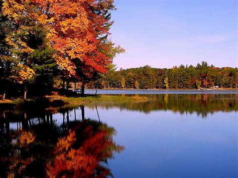 Autumn Lake Wallpapers by Computer Wallpaper Desktop Background