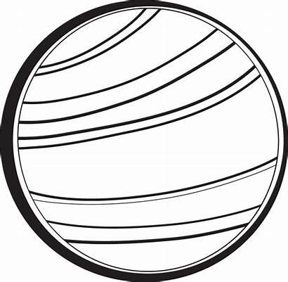 Planet Venus Clipart Clip Planets Outline Uranus