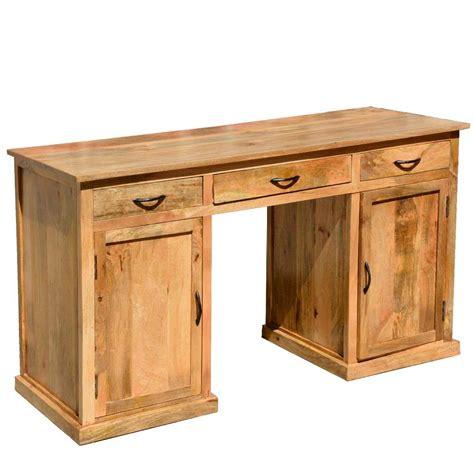 rustic  computer desk   mango wood