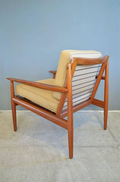 arne vodder for glostrup teak lounge chair for sale at 1stdibs
