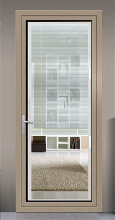 This choice depends entirely on homeowner preference. Aluminium Glass Door With Blinds Inside - Buy Blinds Door ...