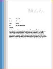Microsoft Office Memo Template Word