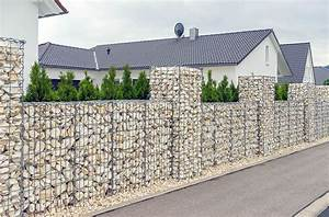 Kit A Gabion : 129 fence designs ideas front backyard styles ~ Premium-room.com Idées de Décoration
