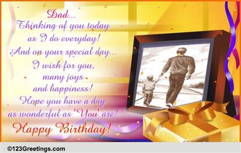 happy birthday dad   mom dad ecards greeting