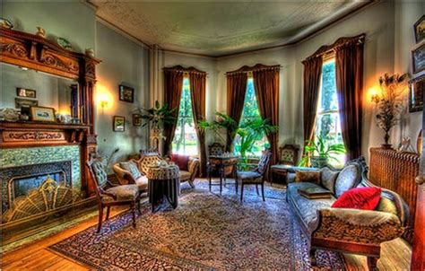 Victorian Style  Interior Home