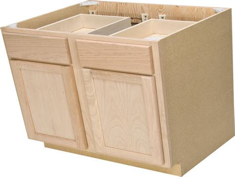 36 base cabinet with drawers quality one 36 quot x 34 1 2 quot unfinished oak double base