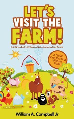 lets visit  farm  childrens book  pictures