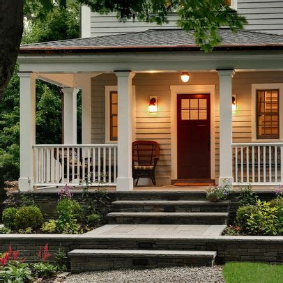 traditional exterior front porch design ideas pictures remodel  decor front   front