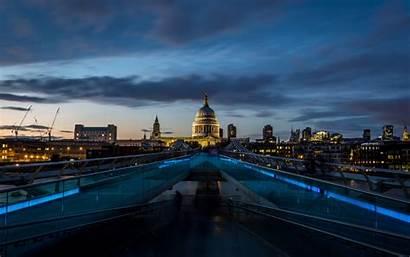 Bridge Paul Millennium St Cathedral Saint London