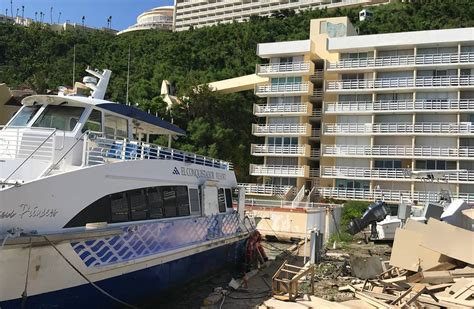 Caribbean Hotels Race to Save Winter Season in Storms ...