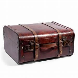 Valise En Bois : valise ancienne grand mod le maisons du monde ~ Teatrodelosmanantiales.com Idées de Décoration