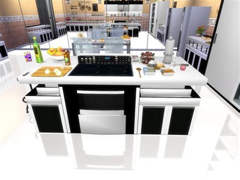 Mod The Sims: Modern Kitchen by sim4fun ? Sims 4 Downloads