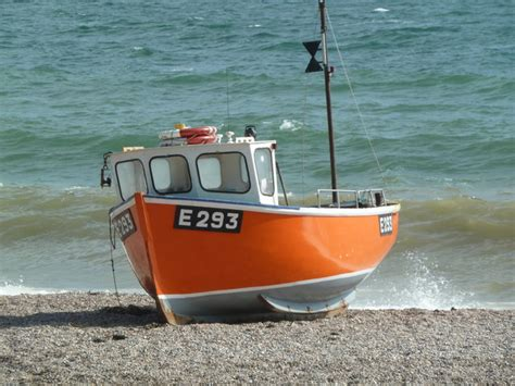 Orange Boat by Orange Boat Branscombe 169 Chris Allen Geograph