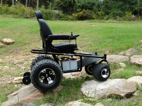 outdoor mobility powered wheelchair a new