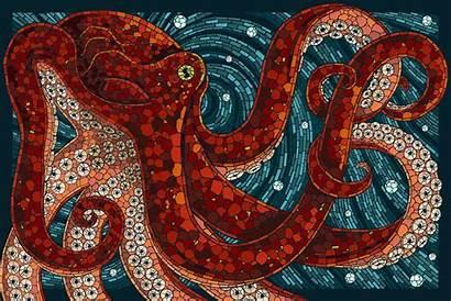 Octopus Wallpapers Desktop Backgrounds Sea Computer Background