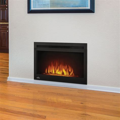 built in electric fireplace cinema 27 quot nefb27hg built in electric fireplace napoleon