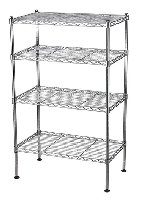 chrome kitchen storage racks wire shelving unit storage rack garage shelves adjustable 5421