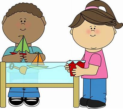 Preschool Snack Clip Clipart Playing Play Table