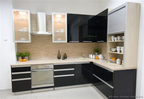 black kitchen cabinet ideas pictures of kitchens modern black kitchen cabinets