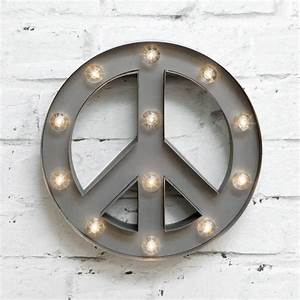 103939 marquee light peace symbol by rocket rye With peace marquee letters