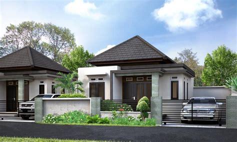 properti desain rumah minimalis mewah dan modern 1