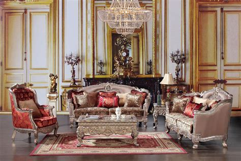 homey design hd  luxury living set