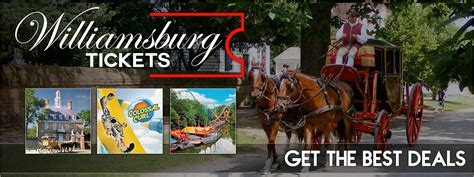 get 2 free williamsburg tickets or 2 free busch gardens